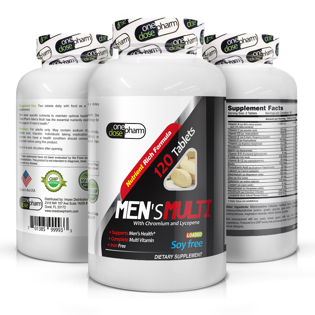 Top Multivitamins For Men